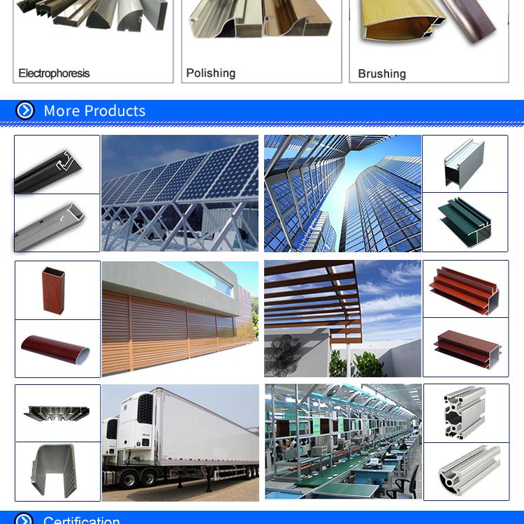 Блеск высокое качество 6005 T5 новый дизайн алюминиевый профиль привело