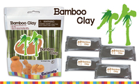 Eco Friendly Natural Resource Bamboo Clay