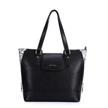 europe classic style handbag lady large bag genuine snake skin leather
