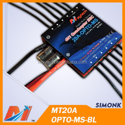 Maytech rc quad 20A Brushless speed controller 4IN1 oneshot BLHeli ESC