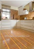 PVC floor warming systems instead of carbon film underfloor heating