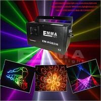 1.2w Mini projector Holographic laser star DJ lighting