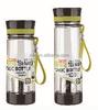 500ml tea maker plastic drinking water bottle for drinking