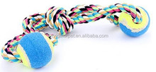 Pet Toy With Rope And Tennis