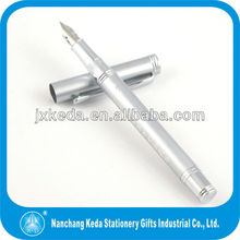 2014 Devoted Cool Sterling Silver Color Customization Handmade Fountain Pens