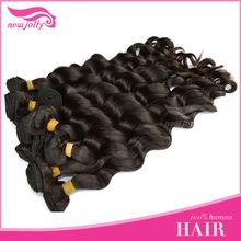 Customer good feedback brazilian big wave human hair in new york