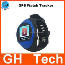 GH G-W23 wrist watch gps tracker with gps gsm two way communication sos call personal gps tracker