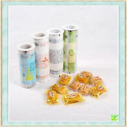 Custom printed biscuit packaging roll film