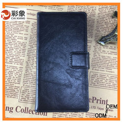 Alibaba china leather cover case for lenovo a5500
