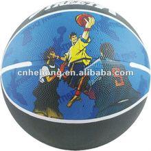 Good Quality Size 7 RUBBER BASKETBALL---RA015