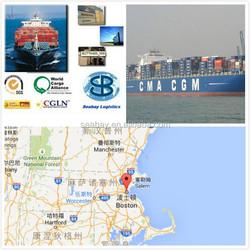 Reliable sea shipping company to boston