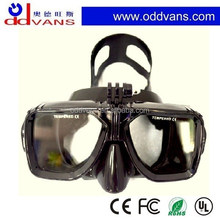 2015 New design Diving Masks wimming goggle camera masks for go pro hero action cam