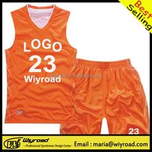Accept sample order v-neck basketball jersey,wholesale orange basketball jersey,youth basketball jersey
