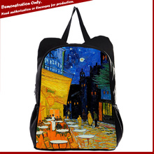 Manufacturer hiking animal dogs&cats canvas backpack bags