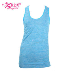 2015 customized seamless sports vest hot girls tank top