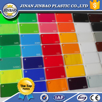 2015 Pop advertising material properties of acrylic sheet 2mm 3mm