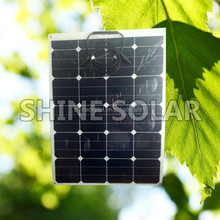 solar cell panel 25W lowest price thin film flexible solar panel 60W