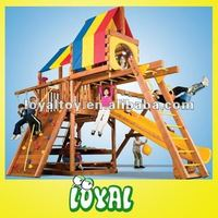 Made In China clearance wooden swing sets Hot in Sale with GOOD Quality