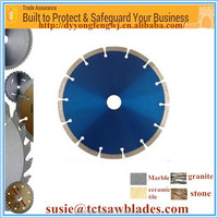 """4""""(105/110 mm) Online wholesale in stock cold pressed dry diamond saw blade with color box"""