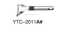 YTC-2011A Easy use kitchenware vegetable and fruit tools potato peeler