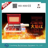 Worldslaser professional laser engraving machine 4060 for paper/wood/plastic