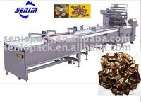 SM600 High Speed Full Automatic Pillow Candy Chocolate Wrapping machine