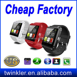 2015 Cheap Price Bluetooth Multi-function Smart Watch U8 Watch Phone Reloj Inteligente for Android