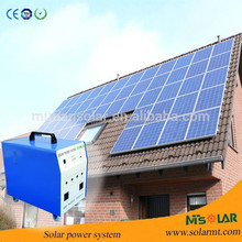 Hot sale 60w 18V hanwha solar panel price per watt connect to grid-tied solar inverter for home grid tie solar energy systems