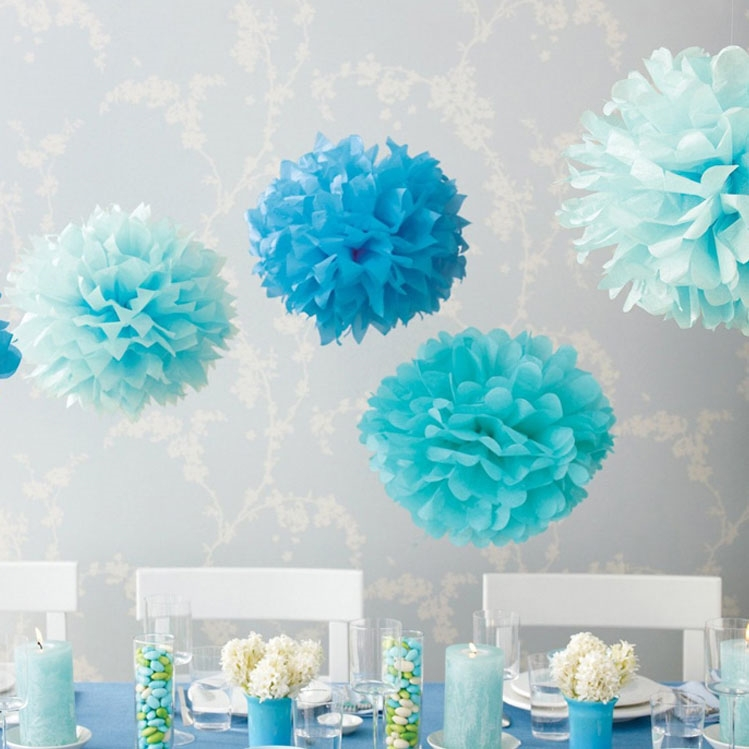 how to hang tissue paper pom poms Tissue paper pom poms are so popular at weddings, hang them from your venue ceiling or tie them to the pew ends in your church however you use our paper pom poms.