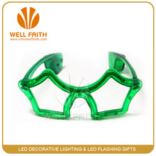Star shaped led glasses ,led light glasses for party decoration