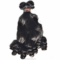 2015 AliExpress Cheap Fashionable Dyeable Tangle Free Natural Color Natural Russian Hair Funmi Hair Weave Weft