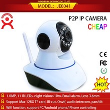 dual camera mobile phone ip camera support 64gb sd HDd multi angle HD view camera