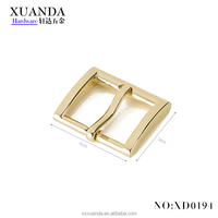40*30mm low price square metal belt buckles with nice quality