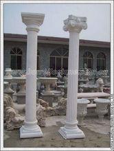 Decorative concrete column roman pillar plastic molds for for House columns prices