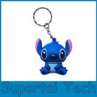 Hot selling New gadgets pvc cartoon Stitch usb pen drive 8gb