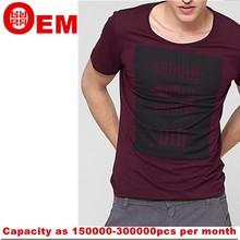 Hot sale Fashion t shirt Customized o-neck men tshirt