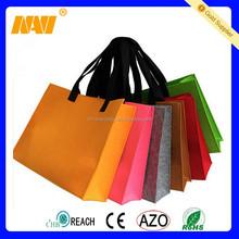 Eco-friendly Wool Felt Lady Hand Bag Felt Women Shoulder Bag Tote Shopping Bag