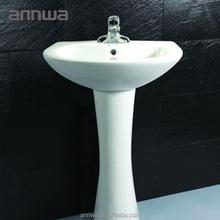pedestal ceramic wash basin sink parts and pedestal wash basin