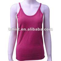 Custom variety of colors hot girls bamboo tank top