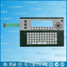 standard touch screen membrane keyboard switch