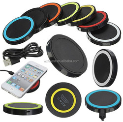 Hot Selling QI Wireless Charger for Samsung Galaxy S6 S6 edge Wireless Charging Base Portable Wireless Charger