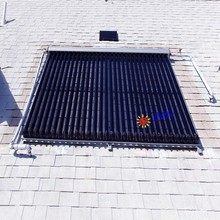 Solar KeyMark/EN12975,SRCC and CSA Certificated Vacuum Tube Solar Collector with heat pipe