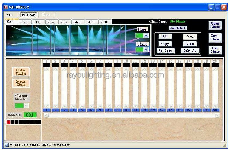 dmx 512 control interface3jpg