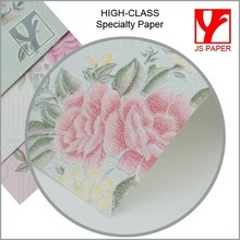 Top Quality and New Fashion style Art Paper raised paper new style paper