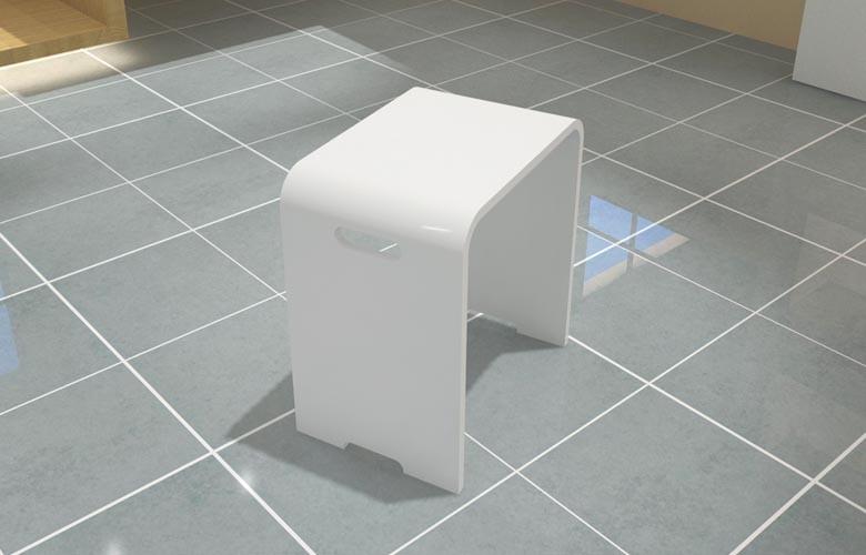 Kc 03 salle de bains nouveau design tabourets de douche si ge de douche chais - Tabouret salle de bain leroy merlin ...