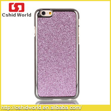 Glitter Bling Plastic Mobile Phone Hard Case For iPhone 6 Cases 2015 New Arrival