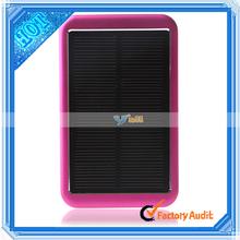 8000mAh Portable Solar Power Bank Charger Mini Solar Power Bank Solar Energy Power Bank