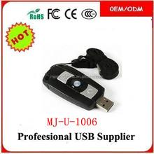 best oem custom logo color PVC usb , advertising gifts 1gb usb flash drive