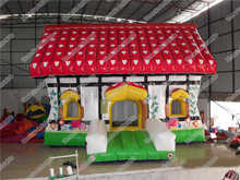 Inflatable Colorful House Bouncer