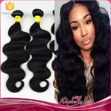 Factory Hair Vendors Wholesale 7A Grade Natural Color Virgin Brazilian Human Hair Sew In Weave